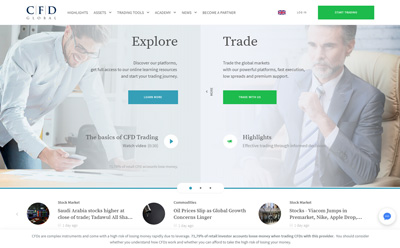 Capex homepage overview